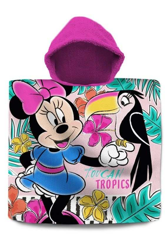 Pončo Minnie Tropic