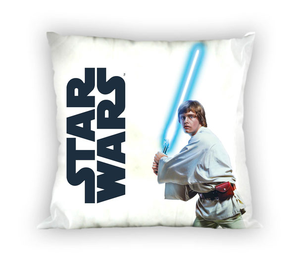 Obliečka na vankúšik Star Wars Luke Skywalker