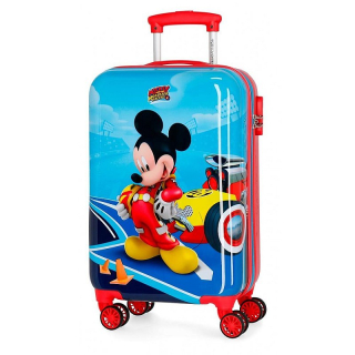 ABS Cestovný kufor Mickey Lets Roll 55 cm