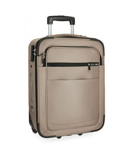 Cestovný kufor Roll Road Time Beige 55 cm