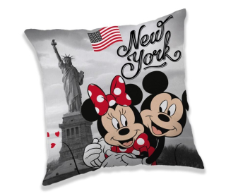 Obliečka na Vankúšik Mickey a Minnie New York